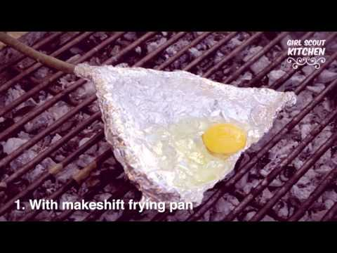 Girl Scout Kitchen: 3 Ways to Cook Eggs