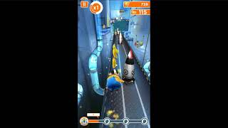 Minion rush gameplay! funny game for kids