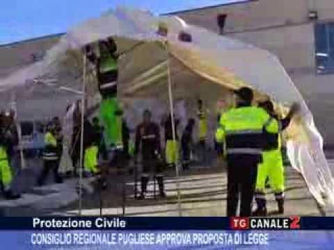 TG CANALE 2_PROTEZIONE CIVILE: CONSIGLIO REGIONALE PUGLIESE APPROVA PROPOSTA DI LEGGE