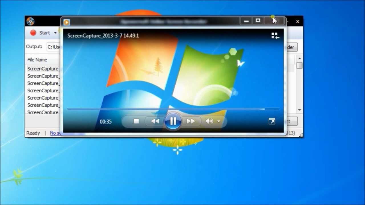 free windows 7 hd screen recorder