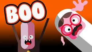 Toca BOO! Game Play.  Haunted house! Halloween videos for children.