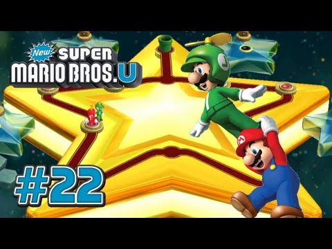 New Super Mario Bros U - Star World Part 1 - 100%