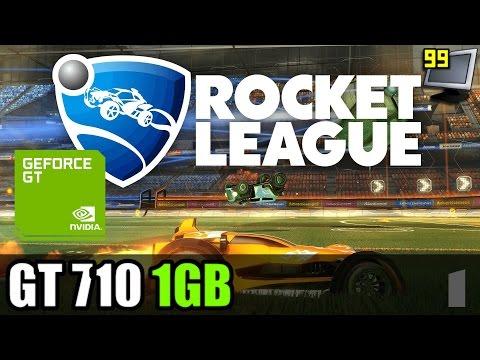 Rocket League on GeForce GT 710 - Can It Run?