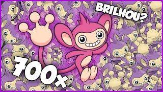 ENCONTREI 700 AIPOM! BRILHOU? -  Pokémon Go | Capturando Shiny (Parte 65)