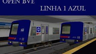 OPEN BVE -- METRO LINHA 1 AZUL -- TUCURUVI / JABAQUARA