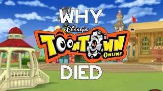 Why ToonTown Online Died
