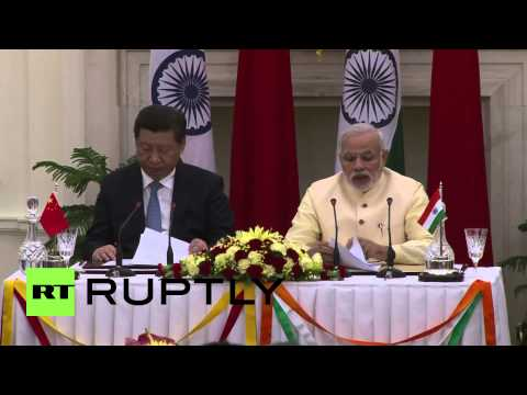 India: Xi Jinping and Modi sign historic deals, make