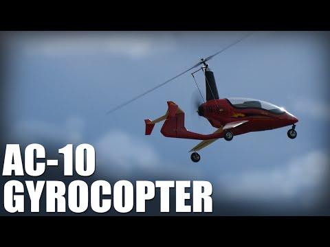 Flite Test | AC-10 Gyrocopter