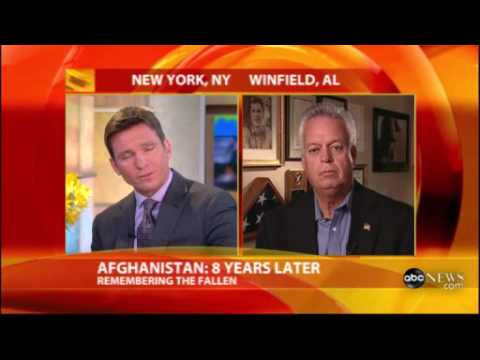 Johnny Spann ABC interview on Afghanistan