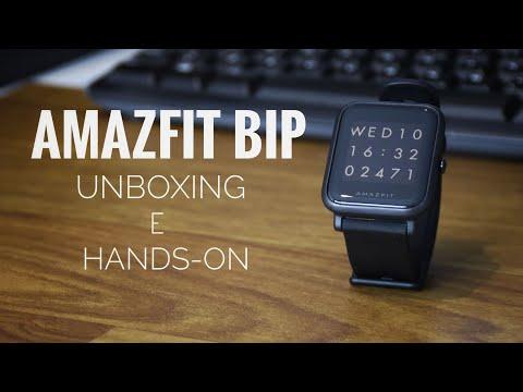 Smartwatch Xiaomi Amazfit Bip - 3 Semanas com ele! | Unboxing e Hands-on
