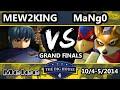The Big House 4 - Mew2King (Marth) Vs. Mango (Fox, Falco) - Grand Finals - SSBM