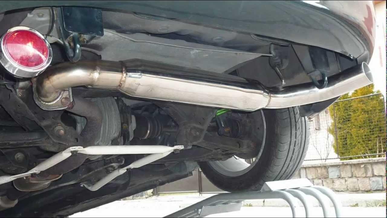 Miata Mx5 Custom Exhaust Try Out Youtube