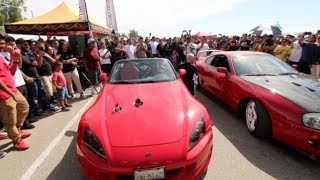 TURBO S2000 DESTROYS EVERYONE! Import Face-off Rev Battle