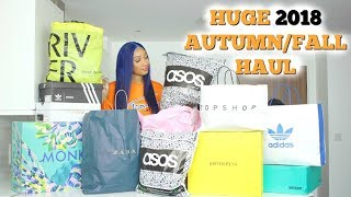 HUGE AUTUMN FALL TRY-ON HAUL 2018 | ZARA, ASOS, TOPSHOP, NIKE, ADIDAS