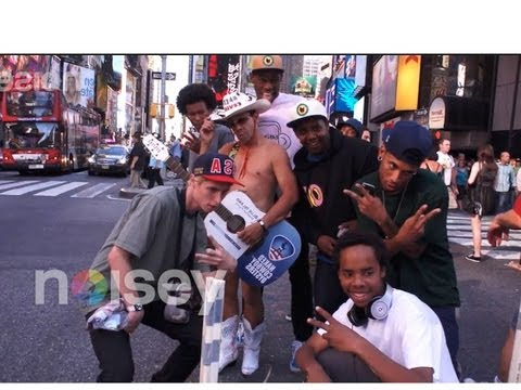 24 Hours with Odd Future in NYC Part 1 - Noisey Specials