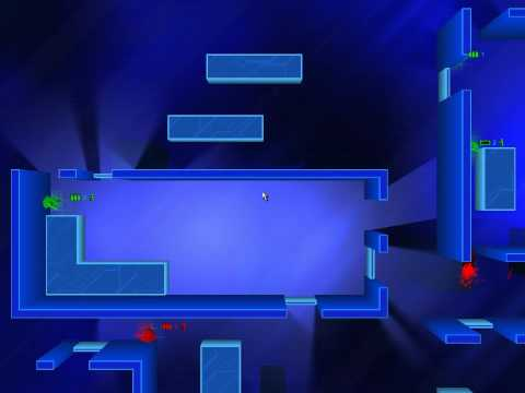 Frozen Synapse: Grim... (green) vs trooper (red) - Extermination