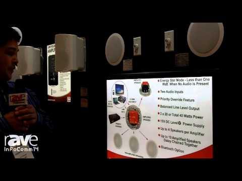 InfoComm 2014: OWI Presents its AMP-BT2SIC6 Bluetooth Amplified Ceiling Speaker