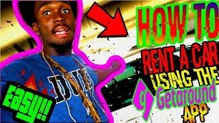 HOW TO RENT A CAR AT 18 USING THE GET AROUND APP!!(2019 HONDA CIVIC TEST DRIVE) Under 25? No Problem