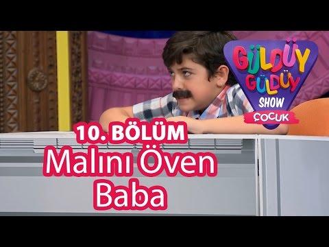 Güldüy Güldüy Show Çocuk 10. Bölüm, Malını Öven Baba Skeci