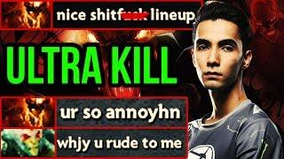 Evil Geniuses Sumail Shadow Fiend Ultra Kill - Ti8 Mid Practice - Dota 2 Update 7.18