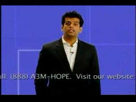 Kal Penn and Sunkrish Bala Support Vinay in bone marrow sear Video