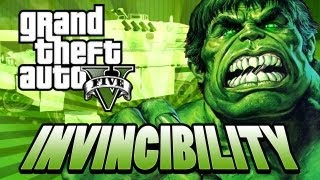 """GTA 5 - INVINCIBILITY cheat code fun """" THIS IS MY MILITARY BASE"""" (Funny moments)"""