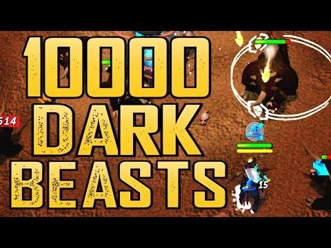Runescape - Loot From 10000 Dark Beasts!