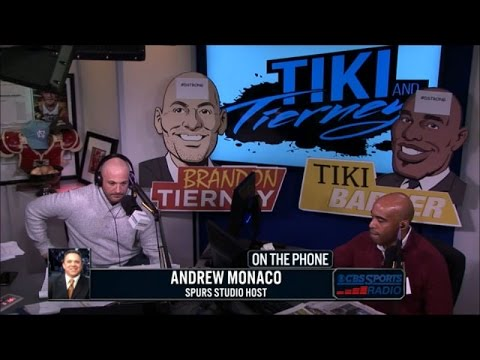 Spurs Studio Analyst Andrew Monaco joins Tiki and Tierney