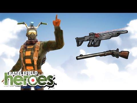 Dual repeater mando! - Battlefield Heroes - new, OP setup test!