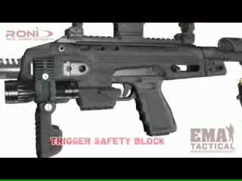 EMA Tactical RONI G1 Glock Carbine Kit Low quality andsize