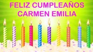 Carmen Emilia   Wishes & Mensajes - Happy Birthday