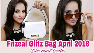 Frizeal Glitz Bag April 2018 | Anniversary Edition | Discount Code | New Website | Unboxing & Review