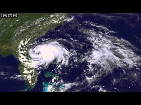 Development of Tropical Storm Beryl