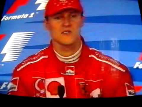 Michael Schumacher & Juan Pablo Montoya