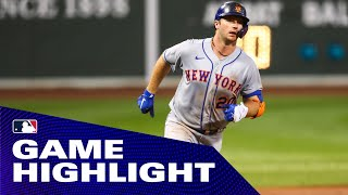 Mets' slugger Pete Alonso demolishes first HR of 2020 over Green Monster!