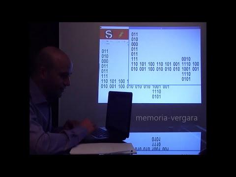 INCREÍBLE!!!! memoriza en 4 segundos 80 números binarios Vergara
