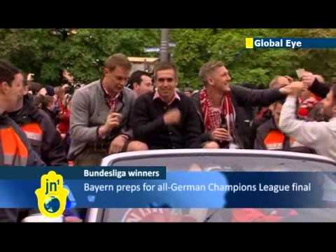 Global Eye: Bayern Munich celebrate 22nd Bundesliga triumph ahead of Champions League Final