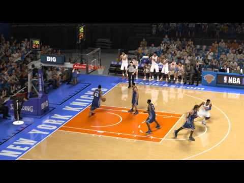 Carmelo Anthony Scores 62 At MSG- NBA 2K14 PS4