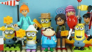 Minions Cheese Festival Stop Motion - Despicable Me 3