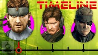 The Complete Metal Gear Solid Timeline (Pt. 2) - Solid Snake Ft. David Hayter | The Leaderboard