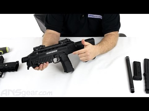 Tippmann Tactical Compact Rifle (TCR) Paintball Gun - Review