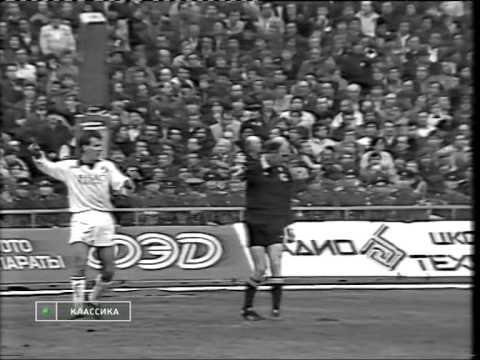 Чемпионат СССР 1989г.  7-й тур  Динамо Киев - Спартак Москва