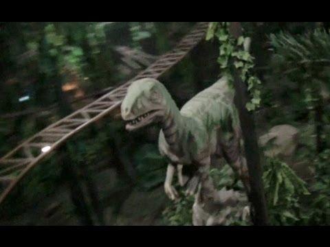 TPR DESTROYS Jurassic Adventure Roller Coaster in Beijing China POV
