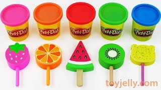 Toy Ice Cream Play Doh Popsicles Learn Colors Baby Toys for Toddlers Kids Kinder Sursrise Eggs