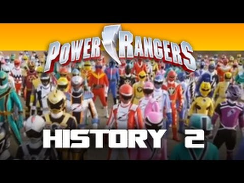 """Here it is, the power rangers history part 2. This features all the power rangers starting from """"Mighty Morphin"""", """"Zeo"""", """"Turbo"""", """"In Space"""", """"Lost Galaxy"""", """"Lightspeed"""", """"Time Force"""", """"Wild..."""