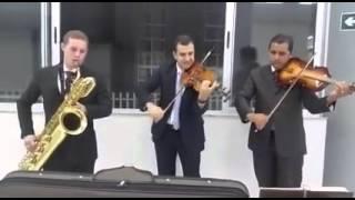 HINOS CCB 283 - QUERO Ó SENHOR, IR CONTIGO AO CÉU - VIOLINO, VIOLA E SAX BARITONO