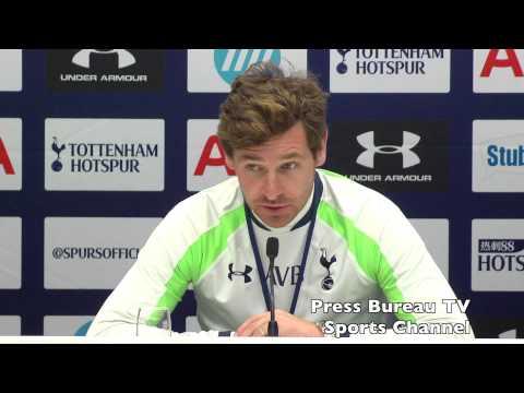 Andre Villas-Boas pre Man City vs Tottenham