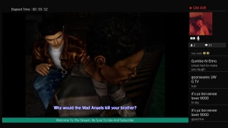 Shenmue Remaster Livestream Fighting With The Mad Angels Part 7 Or 8