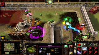 Warcraft 3 | Orc Gladiators: Revenge | Normal Difficulty | All Random | 8/20 | Kigami - Crystal Ball