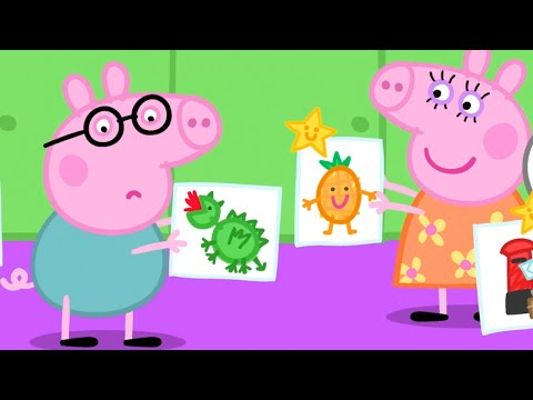 Peppa Pig Full Episodes | Playgroup Star | Cartoons for Children